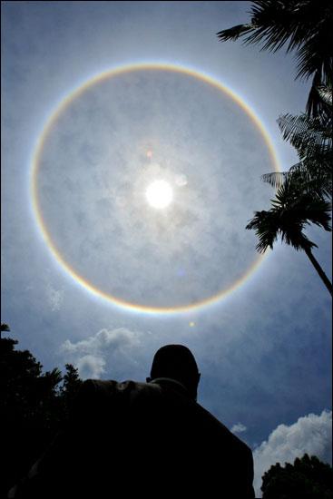 Full-circle rainbow