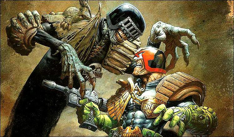 Superhero Wallpapers-Judge Dredd 7