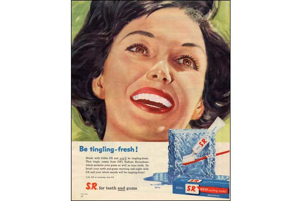 BBC News | In pictures: A history of adverts, Gibbs toothpaste