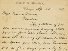 Lincoln letter sets record price