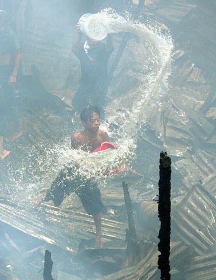 1 - Fighting  Fire in a Slum