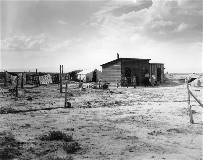 grapes of wrath dustbowl disaster The grapes of wrath's fictional joad family represented thousands of real  both  a human and an environmental disaster, the dust bowl was a.