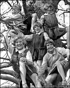 BBC NEWS | UK | Magazine | What can we learn from climbing trees?