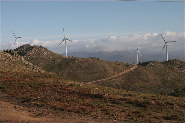 BBC News | In pictures: Green Energy in Portugal, Alto Minho wind farm