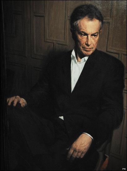 Phil Hale paints Tony Blair