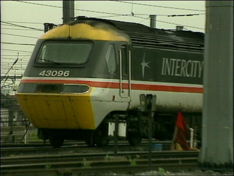 An Intercity 125 train circa 1989