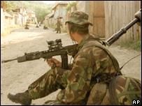 generic soldier shot