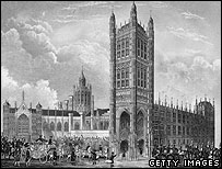 Houses of Parliament, 1840