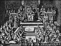 Queen Elizabeth's court