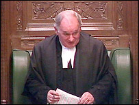 The House of Commons' Speaker