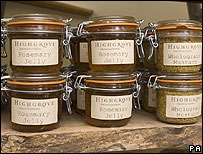 Highgrove condiments