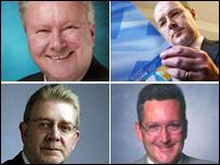 Alex Neil, John Swinney, Mike Russell and Fergus Ewing
