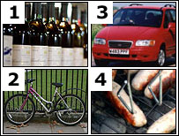 composite bike,car etc