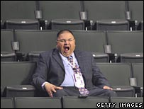 Yawning delegate