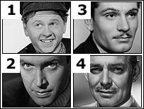 Four movie stars