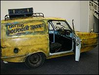 The Trotter's van