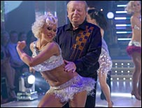 John on the dancefloor