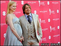 Nicole Kidman and her husband