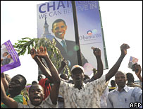 Kenyan Obama supporters