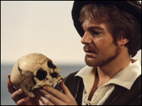 Derek Jacobi as Hamlet