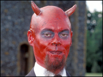 Kevin Eldon as the Devil