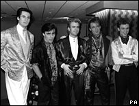 Spandau ballet back in the day