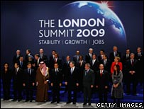 The summit delegates