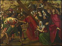 The Procession to Calvary by Ghirlandaio 