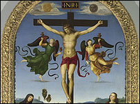 The Crucixion, by Raphael