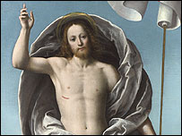 Christ rising from the Tomb by Ferrari