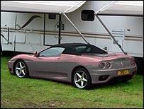 Ferrari without a paint job