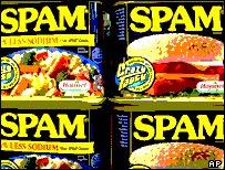 Spam tins