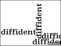 Diffident