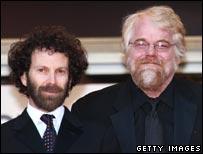 Charlie Kaufman and Philip Seymour Hoffman