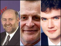 Ian Welsh, Keoth Raffan and Duncan Hamilton