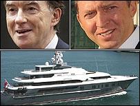 Peter Mandelson, Oleg Depraska and a yacht