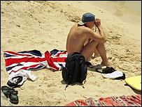 British man in Spain