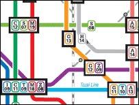 Underground map