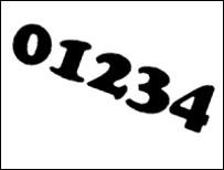 01234 graphic