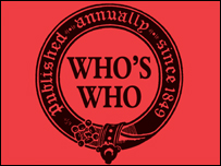 The Who's Who logo