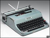 Cormac's typewriter