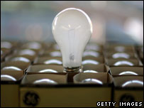 An incandescent bulb