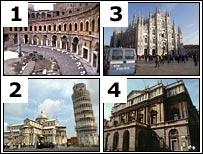 Italian buildings