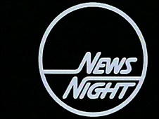 Early Newsnight graphics