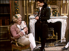 A scene from Blackadder the Third