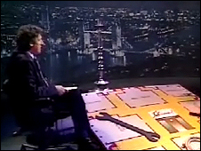 Jeremy Paxman and the giant Cluedo board