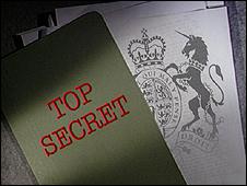 Top secret graphic