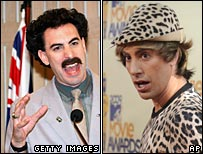 Borat and Bruno