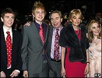Lloyd Webber family