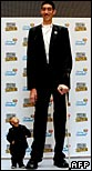 Shortest and tallest men
